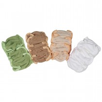 3PCS/10 PCS Microfiber Elastic Headbands with Soft Velcro Closure